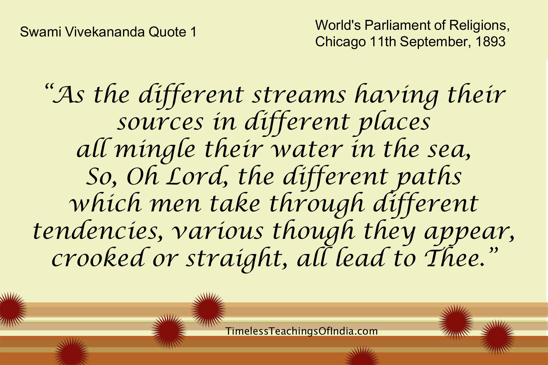 Vivekananda Quote 1