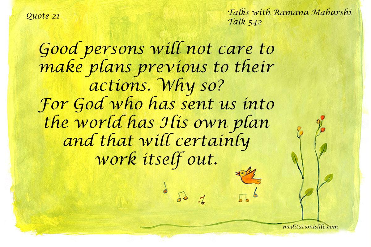 Ramana Maharshi Quote 21